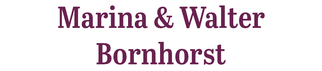 Marina and Walter Bornhorst