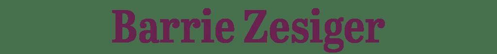 Barrie Zesiger